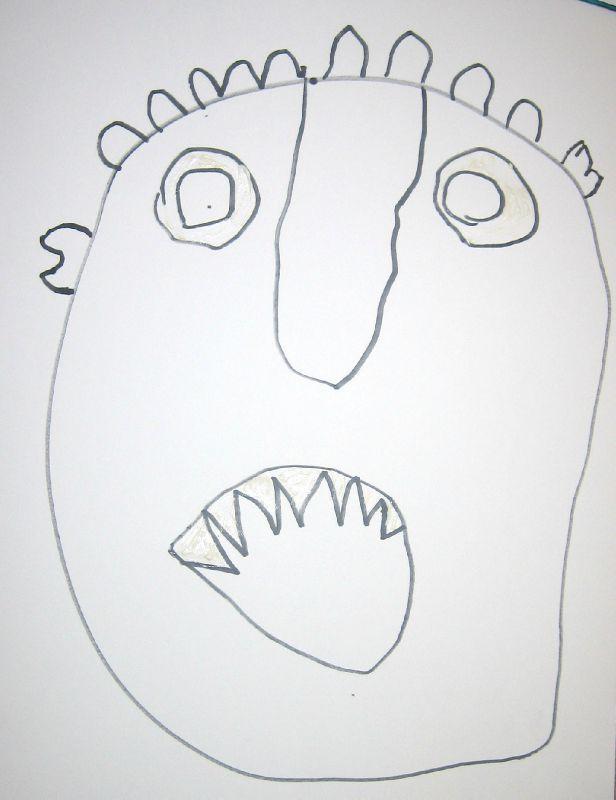 Gloups - La Moyenne Section De Lolo tout Coloriage Gloups