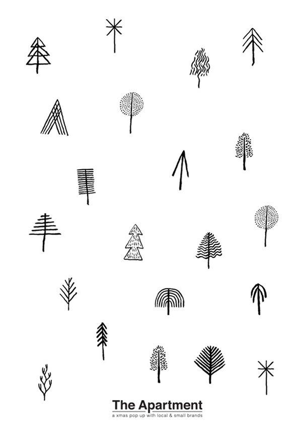 Graphisme De Noël Original #Noel #Graphique #Symbole intérieur Symbole Noel
