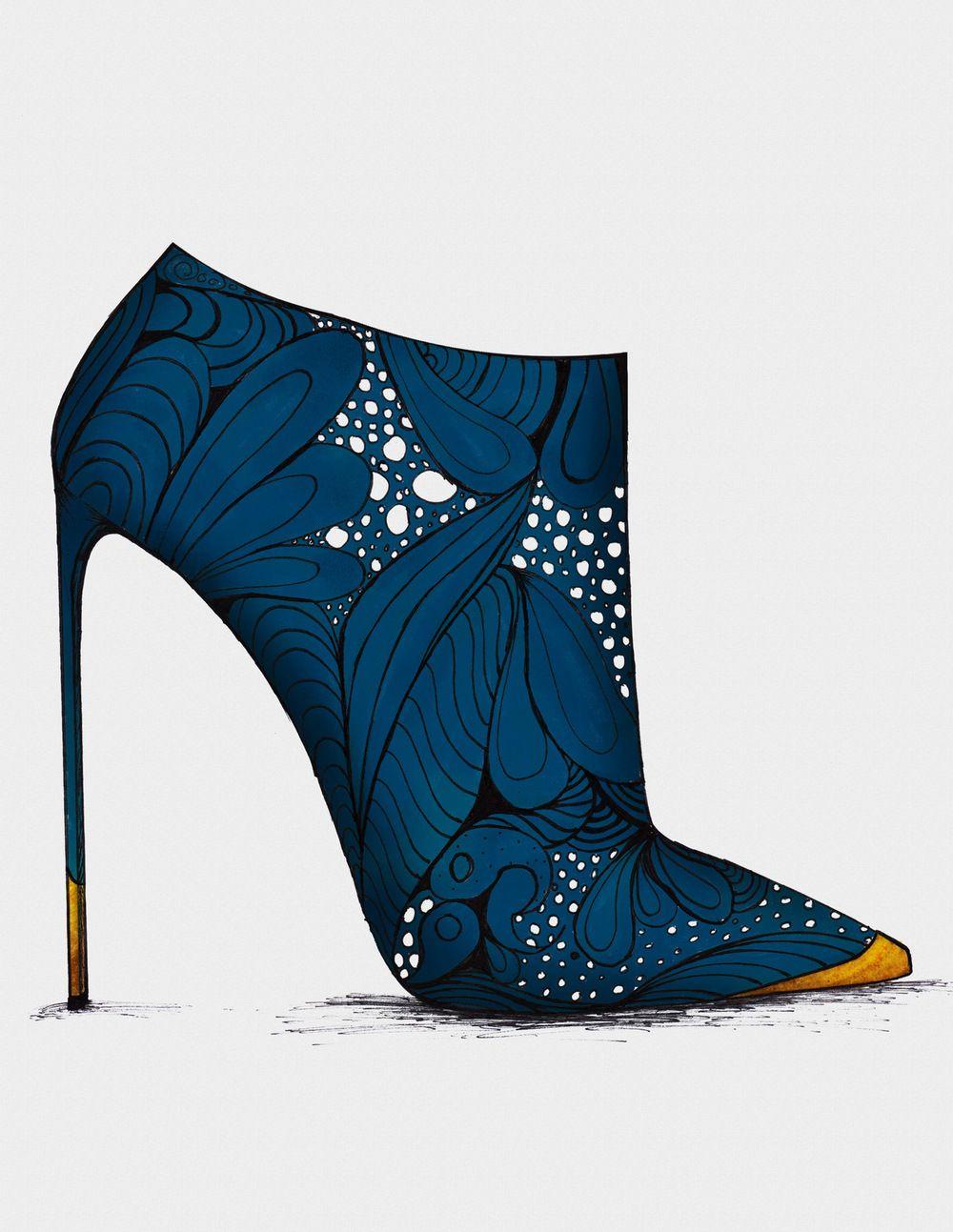 Guillaume Bergen | Modèle De Chaussure, Dessin Chaussure destiné Dessin De Chaussure A Talon