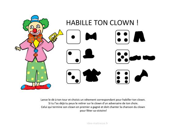 Habiller Son Clown | Cirque, Cirque Préscolaire, Jeux encequiconcerne Jeux De Clown Tueur Gratuit
