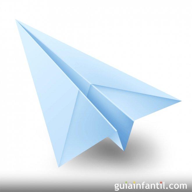 Hacer Un Avión De Papel. Origami Fácil Para Niños destiné Origami Facile Avion