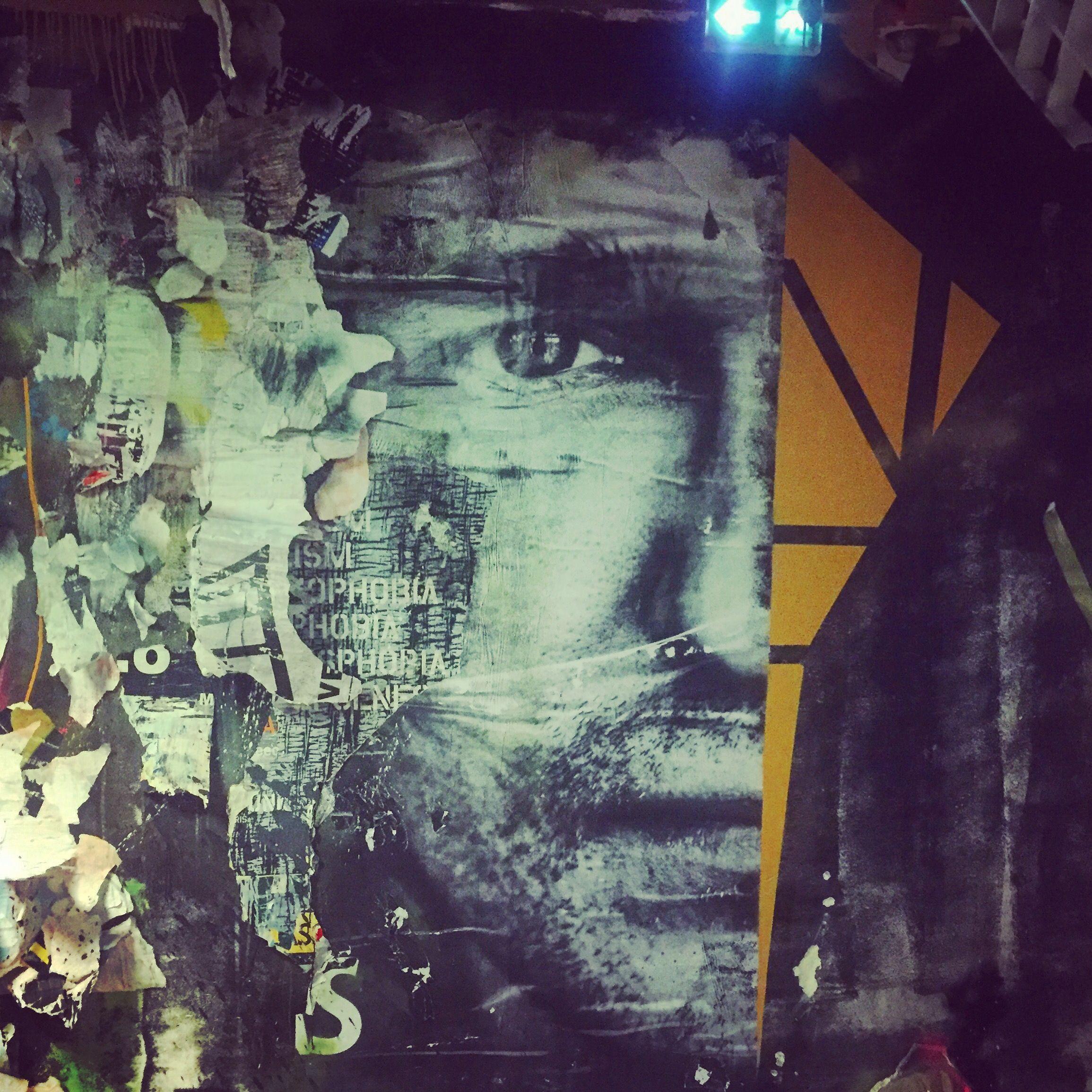Half A Man By @Joachimromain #Joachimromain At #Rehab2 # pour Graffiti Romain