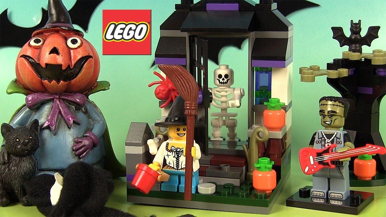 Halloween 2016 Lego 40122 Un Bonbon Ou Un Sort Jeu De intérieur Lego City Dessin Animé