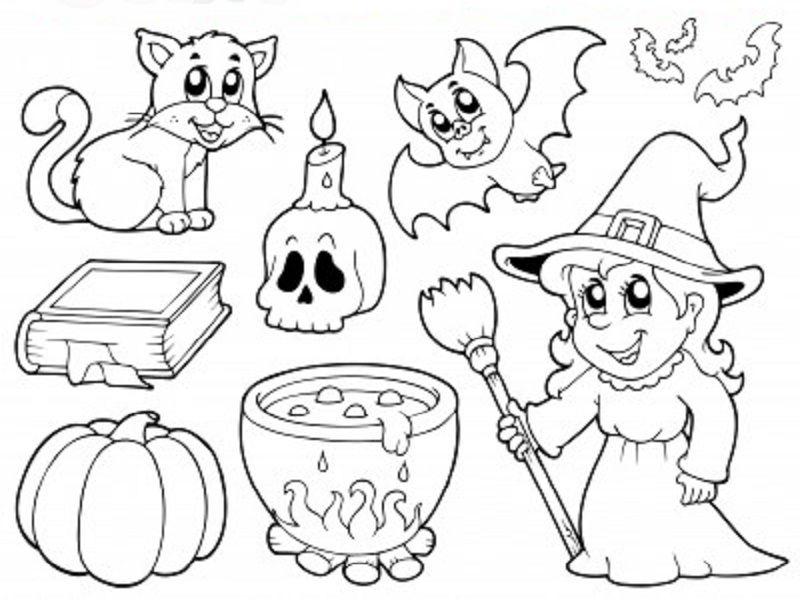 Halloween Dessin - Recherche Google | Coloriage Halloween dedans Dessin A Colorier Halloween Gratuit