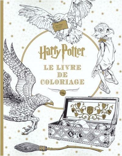 Harry Potter Coloriage Livre 15 Cadeaux Parfaits Pour Les pour Livre Coloriage Harry Potter