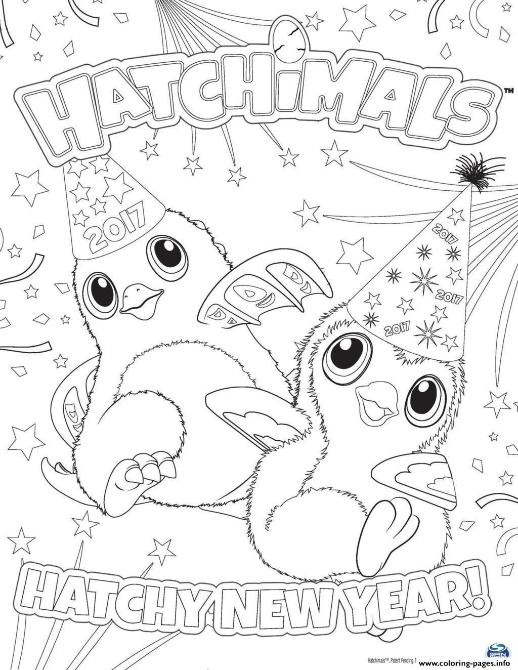 Hatchimals Review - Check Out Before You Buy | New Year Coloring Pages, Coloring Pages For Kids concernant Happy Color Coloriage