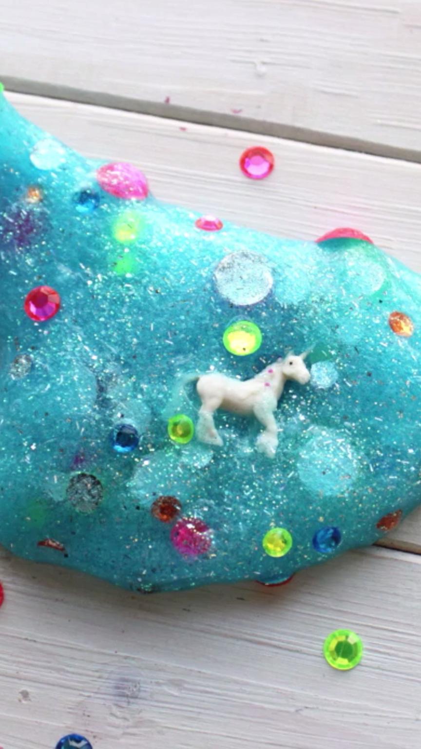 Hidden Unicorn Slime | Ideas For Kids | Unicorn Birthday dedans Videos De Slime