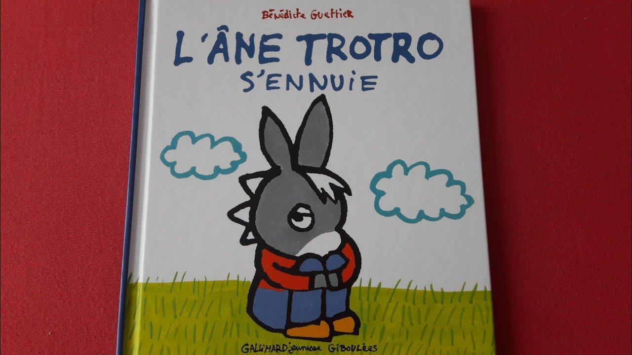 Histoire Pour Les Petits : L'Âne Trotro S'Ennuie - destiné L Âne Trotro Rigolo