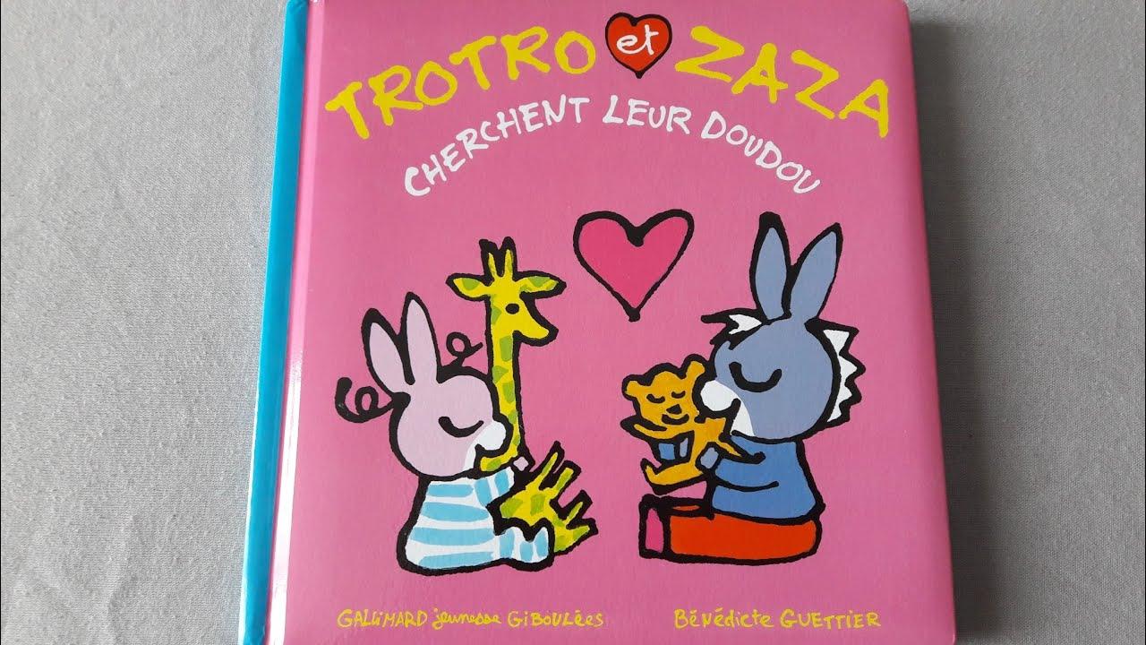 Histoire Pour Les Petits : Trotro Et Zaza Cherchent Leur tout Trotro Et Zaza