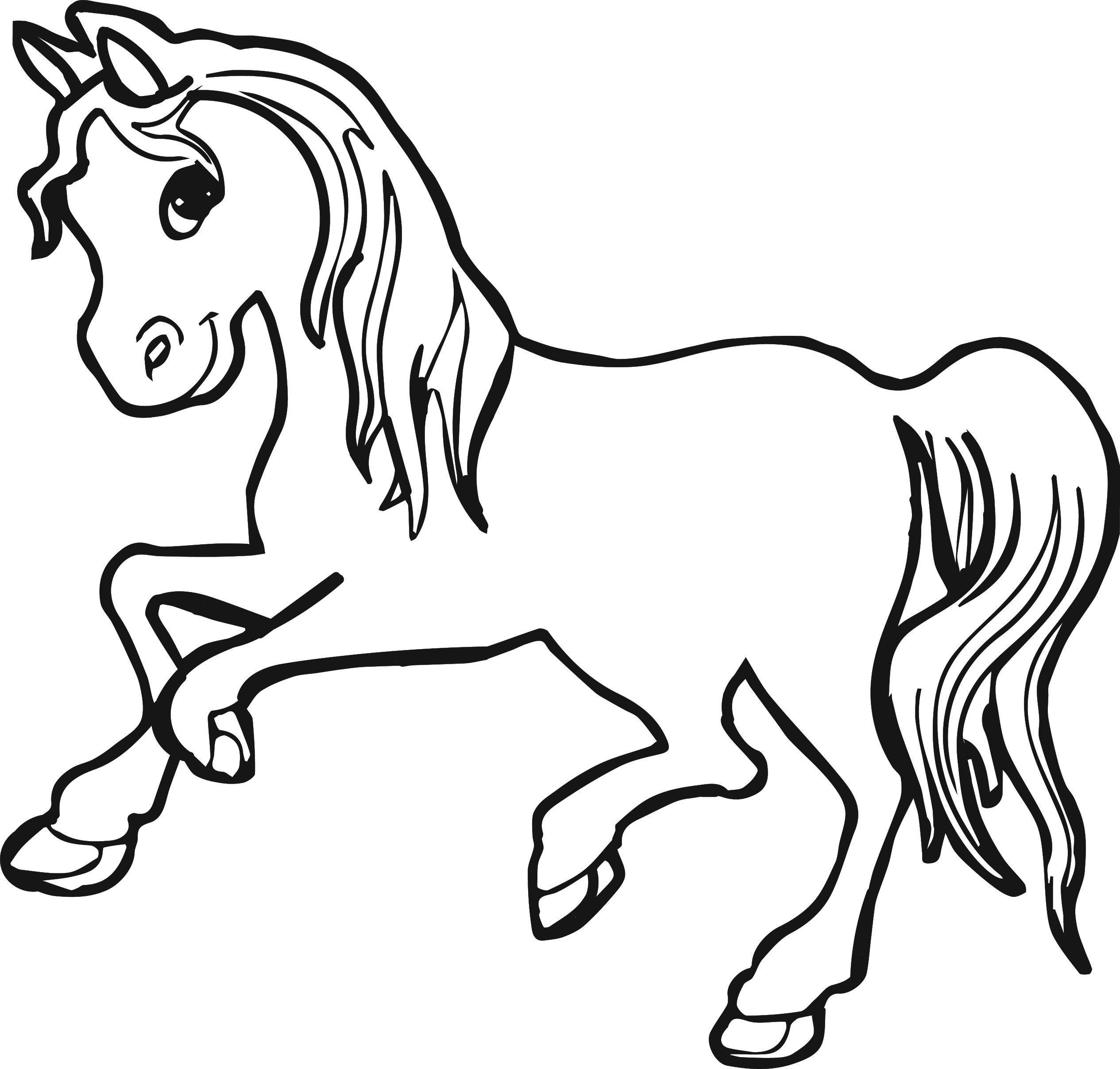 Horse Coloring Pages   Wecoloringpage à Coloriage Pour Fille