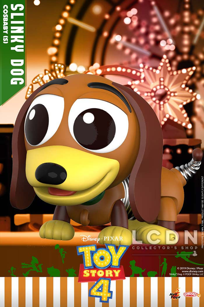 Hot Toys Cosb615 Toy Story 4 Zig Zag ( Slinky Dog pour Zig Zag Toy Story