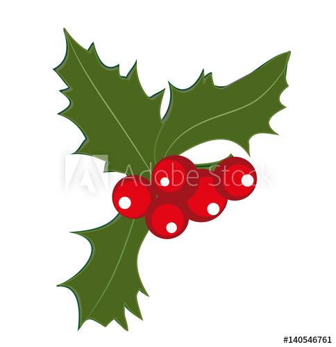 """""""Houx, Symbole De Noël"""" Photo Libre De Droits Sur La concernant Symbole Noel"""