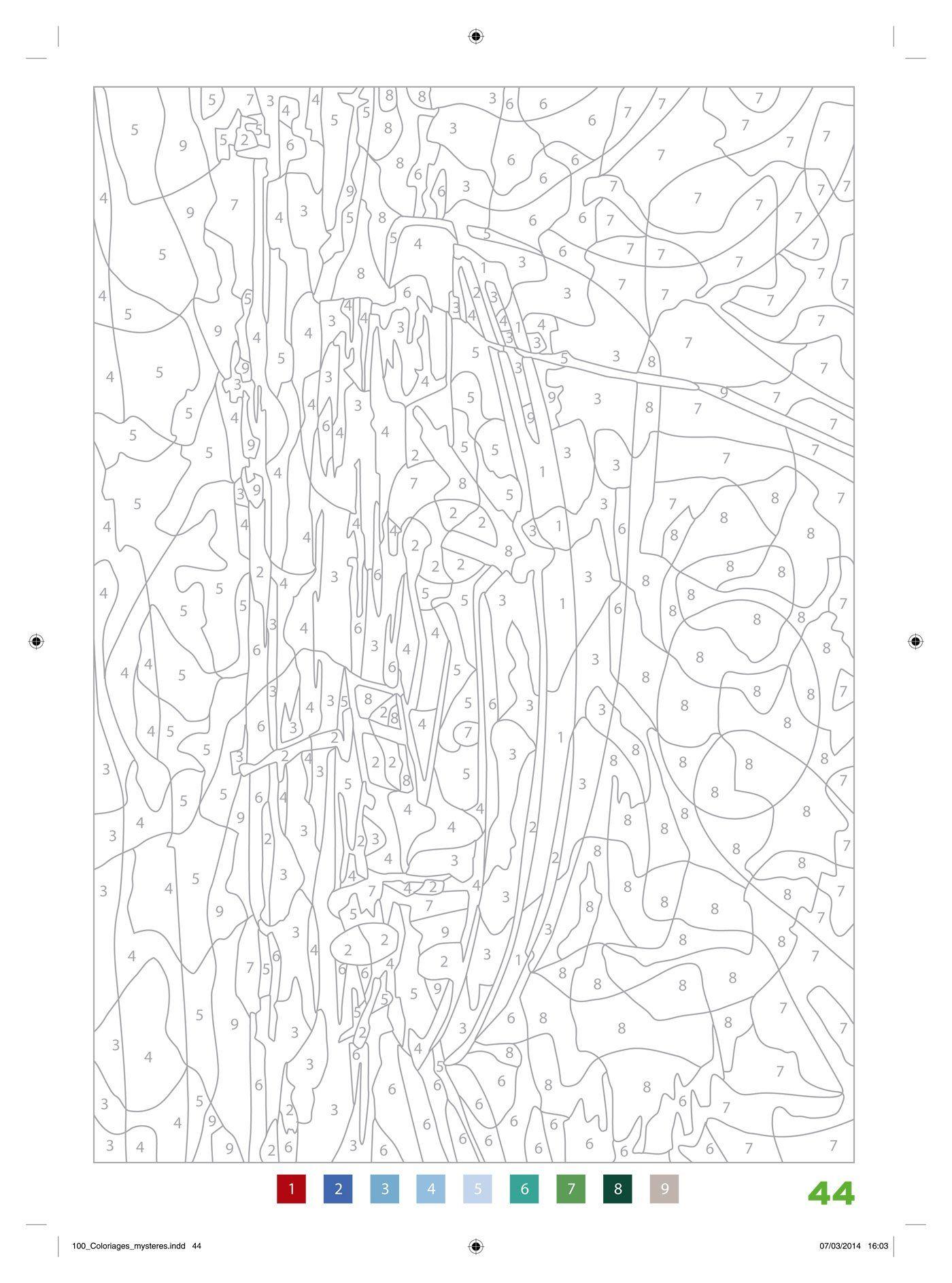 Http://.Amazon.fr/100-Coloriages-Mystères-Jérémy-Mariez avec Coloriages Mystères Disney