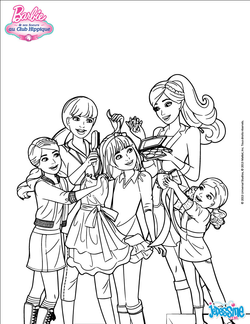 Http://Imgde.hellokids/_Uploads/_Tiny_Galerie/20150519 destiné Coloriage Barbie