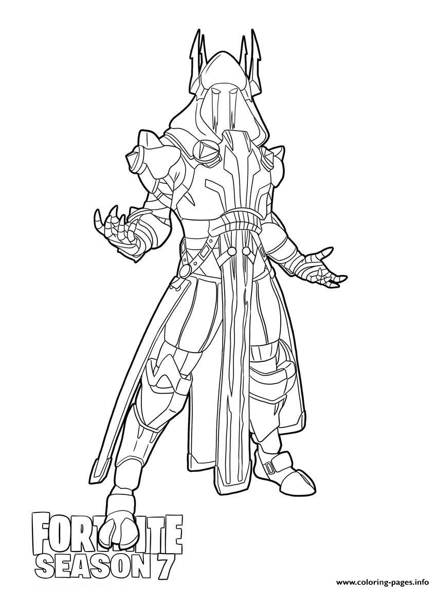 Ice King From Fortnite Season 7 Coloring Pages Printable pour Dessin A Imprimer Personnage Fortnite