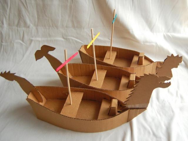 Idées Créatives Et Bricolage : 30 Réalisations Avec Du Carton intérieur Fabriquer Un Bateau Pirate En Carton