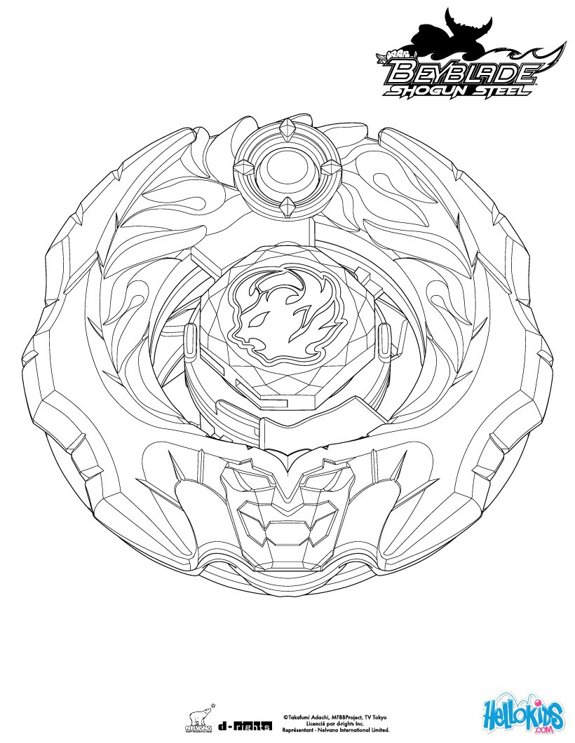 Ifrit Coloring Pages - Hellokids destiné Coloriage Beyblade Burst Turbo