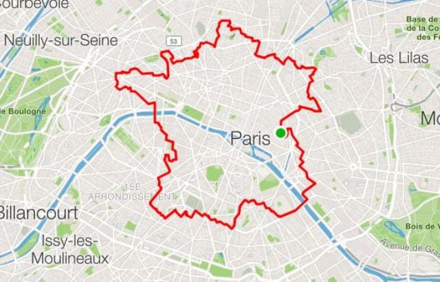 Il Dessine La Carte De La France En Marchant Dans Paris avec Dessin Carte De France