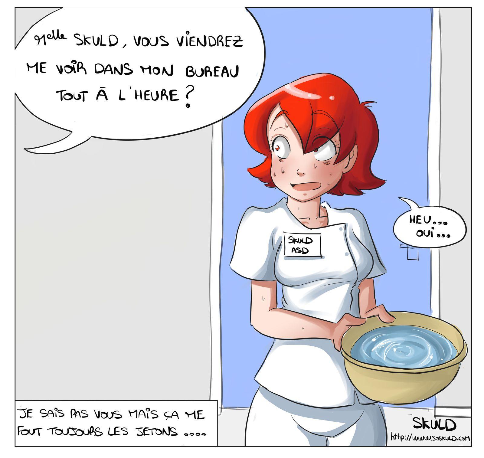 Illustrations - Soskuld, La Vie D'Une Aide-Soignante tout Dessin Humoristique Infirmière