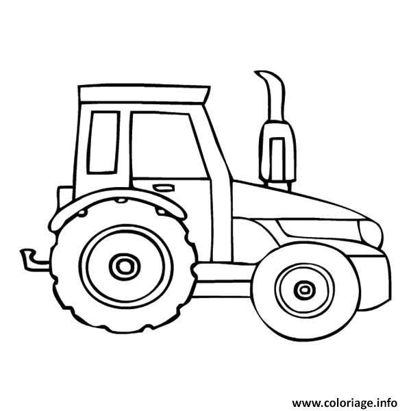 Image Coloriage Tracteur Tom Coloriage Tracteur Moderne tout Dessin Tracteur Tom