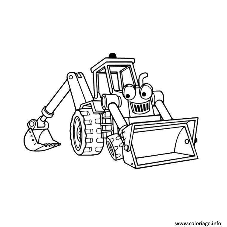 Image Coloriage Tracteur Tom Coloriage Tracteur Tom Pelle pour Dessin Tracteur Tom