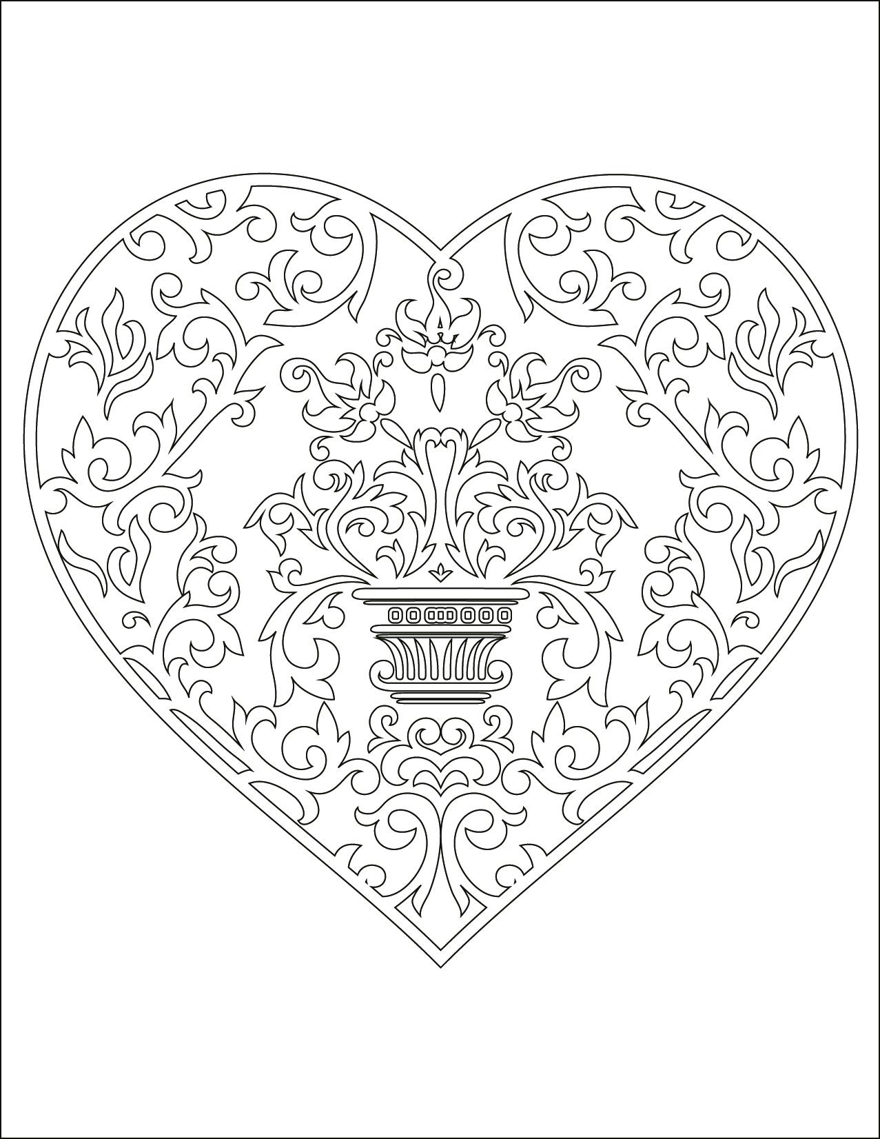 Image De Coeur D Amour Gratuit À Dessiner - Artherapie.ca encequiconcerne Dessin Damour