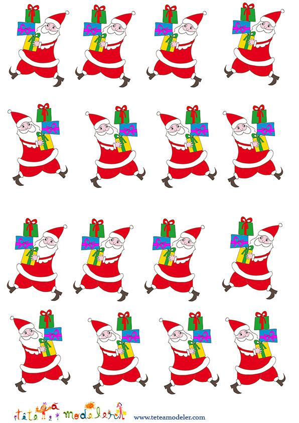 Image De Noel : Planche Images Petits Peres Noel - Noel serapportantà Image De Pere Noel Gratuite A Imprimer