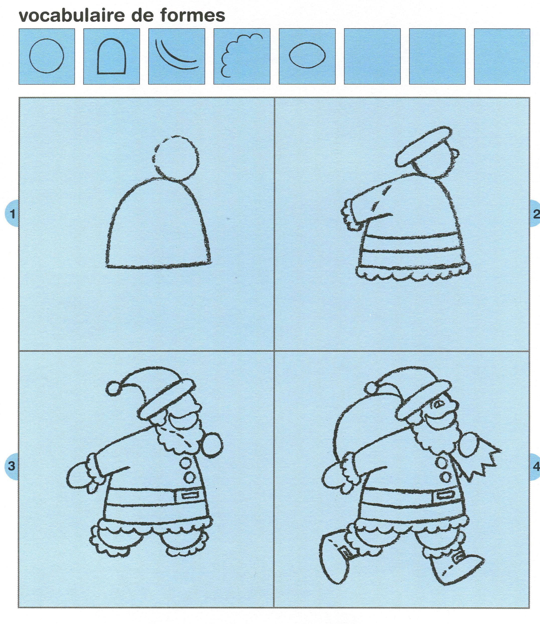 Image Dessin De Noel - Ohbq avec Comment Dessiner Le Pere Noel