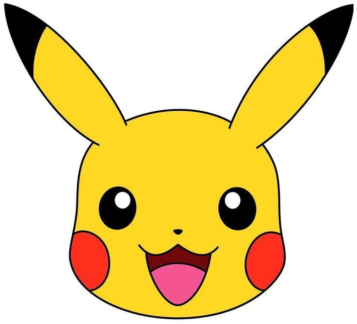 Image Result For Pikachu Head | Pokemon Party, Pokemon avec Dessin De Pokemon En Couleur