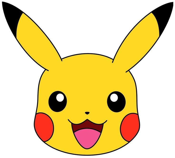 Image Result For Pikachu Head | Pokemon Party, Pokemon tout Dessiner Des Pokémon