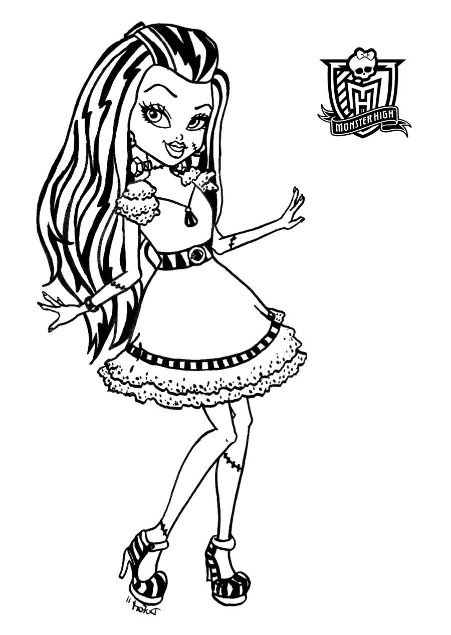 Images Monster High A Imprimer En Couleur - Impremedia à Dessin Monster High A Imprimer