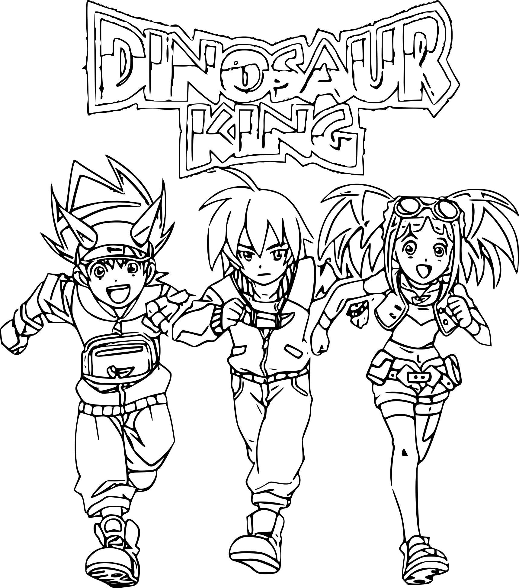 Impressionnant Dessin A Colorier Dinosaure King destiné Jeux De Dino King