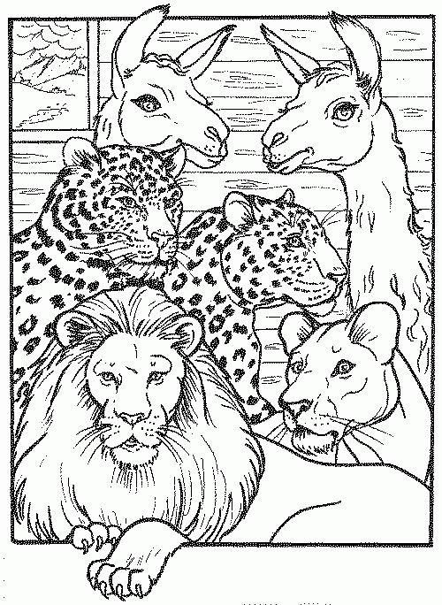 Imprime Le Dessin À Colorier De Lion intérieur Lionceau Dessin