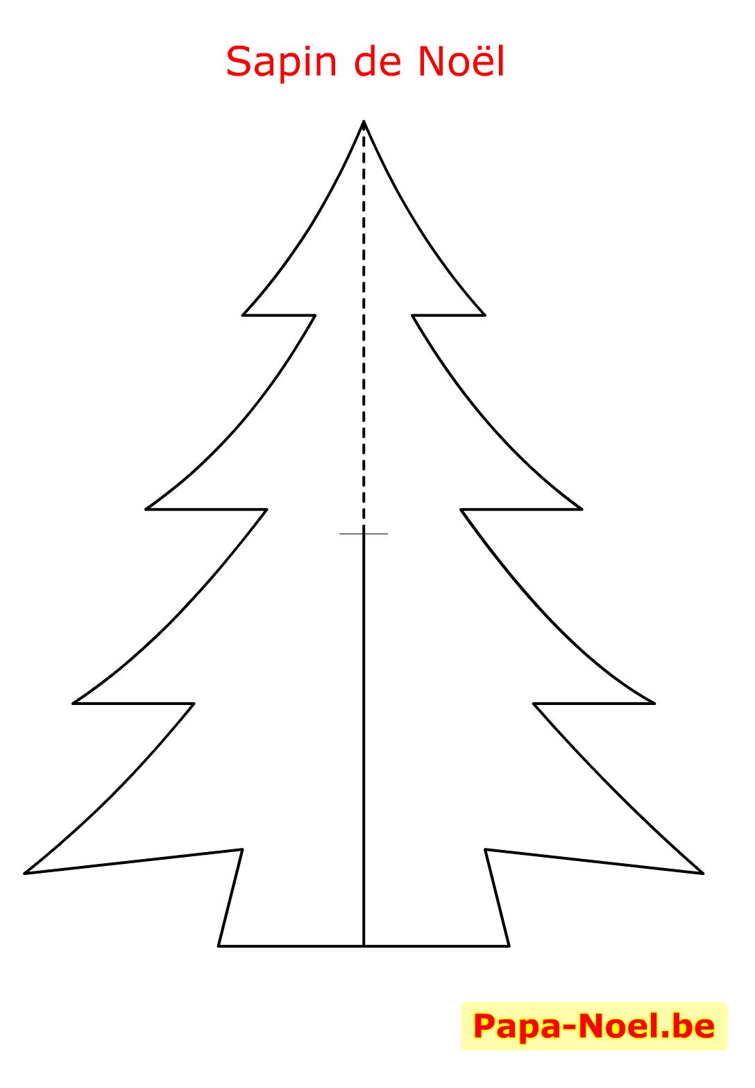 Imprimer Carte De Noël À Poser Bricolage Maternelle serapportantà Modele De Sapin De Noel A Imprimer