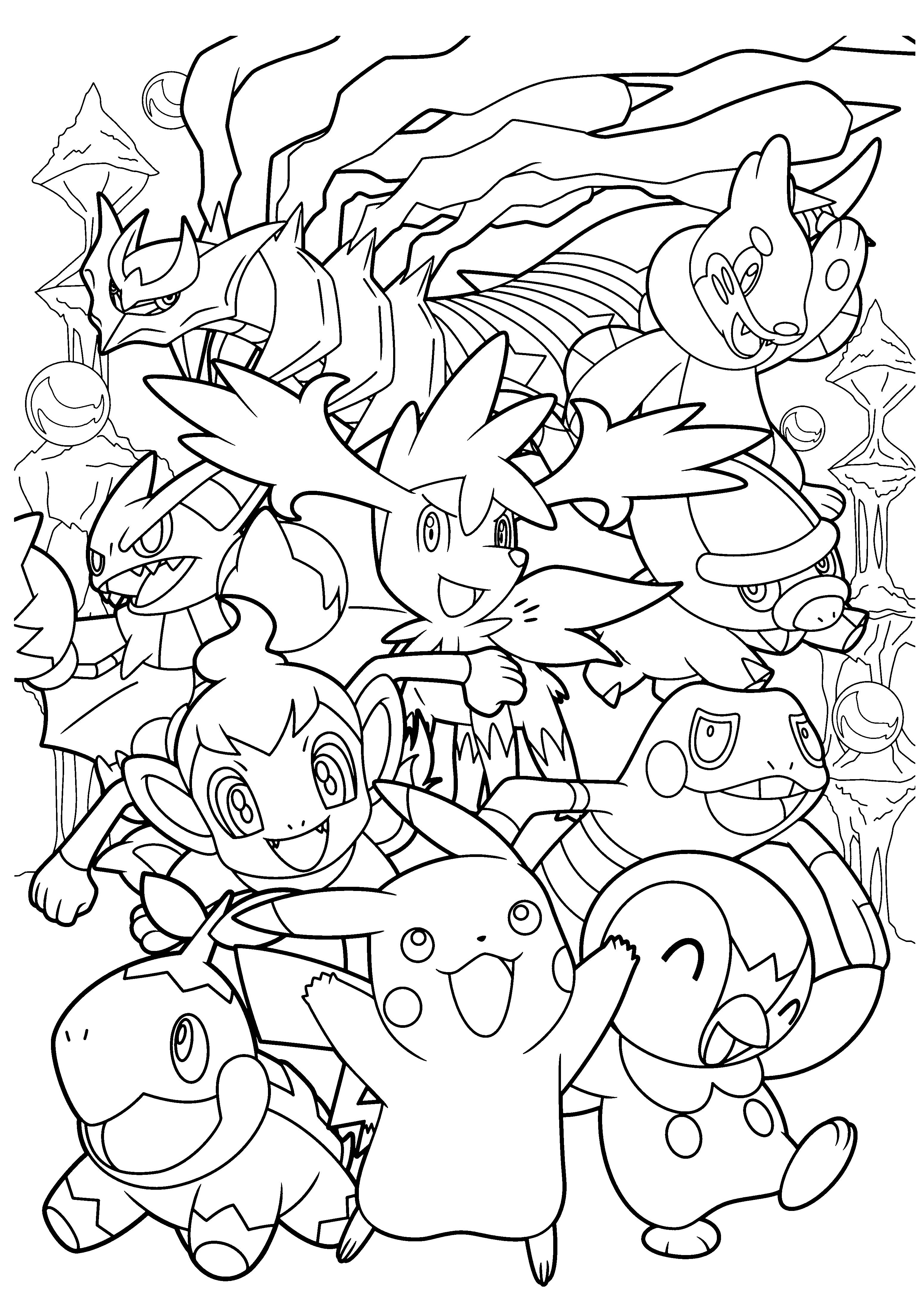 Imprimer Un Coloriage Pokemon serapportantà Coloriage Pok?Mon