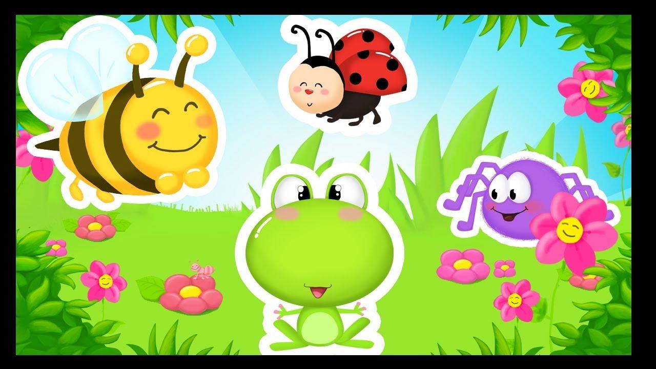 Insectes Et Petits Animaux En Chanson - Titounis - pour Monde Des Petit Chanson