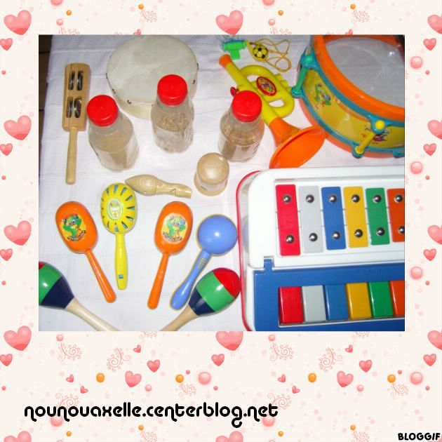 Instruments De Musique destiné Fabrication Maracas Maternelle