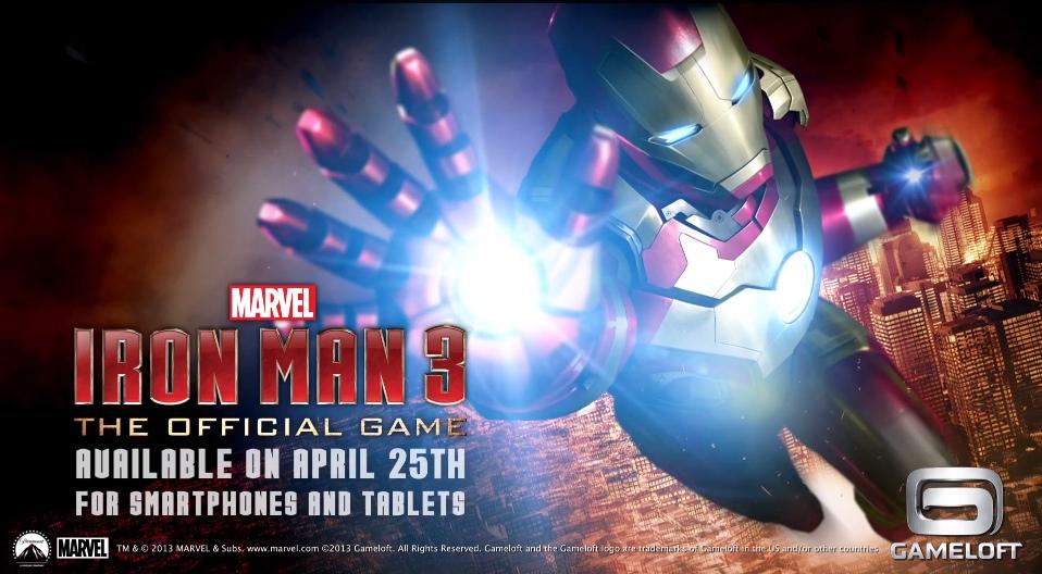 Iron Man 3, Le Prochain Jeu De Gameloft Sera Un Free2Play à Jeux De Iron Man Gratuit