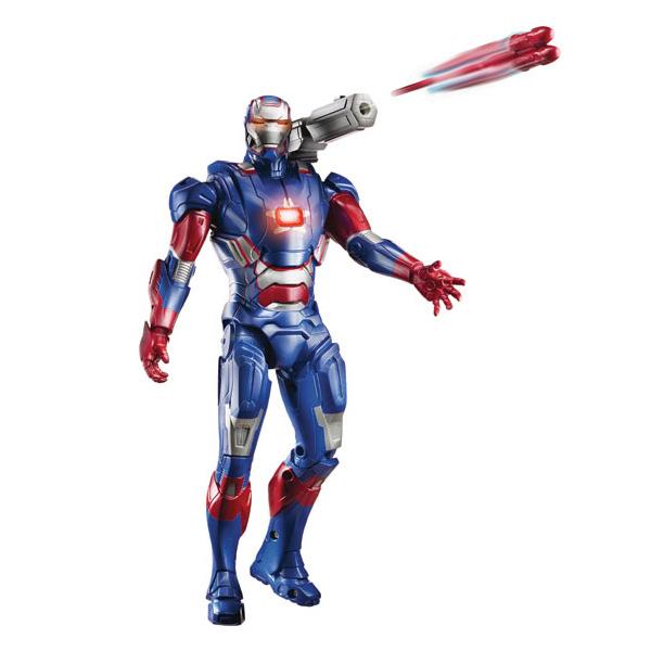 Ironman 3 Figurine Electronique 25Cm Iron Patriot Hasbro destiné Jeux De Iron Man Gratuit