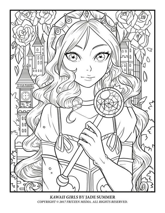 Jade Summer Makes The Cutest Coloring Pages! Get Her à Book Coloriage