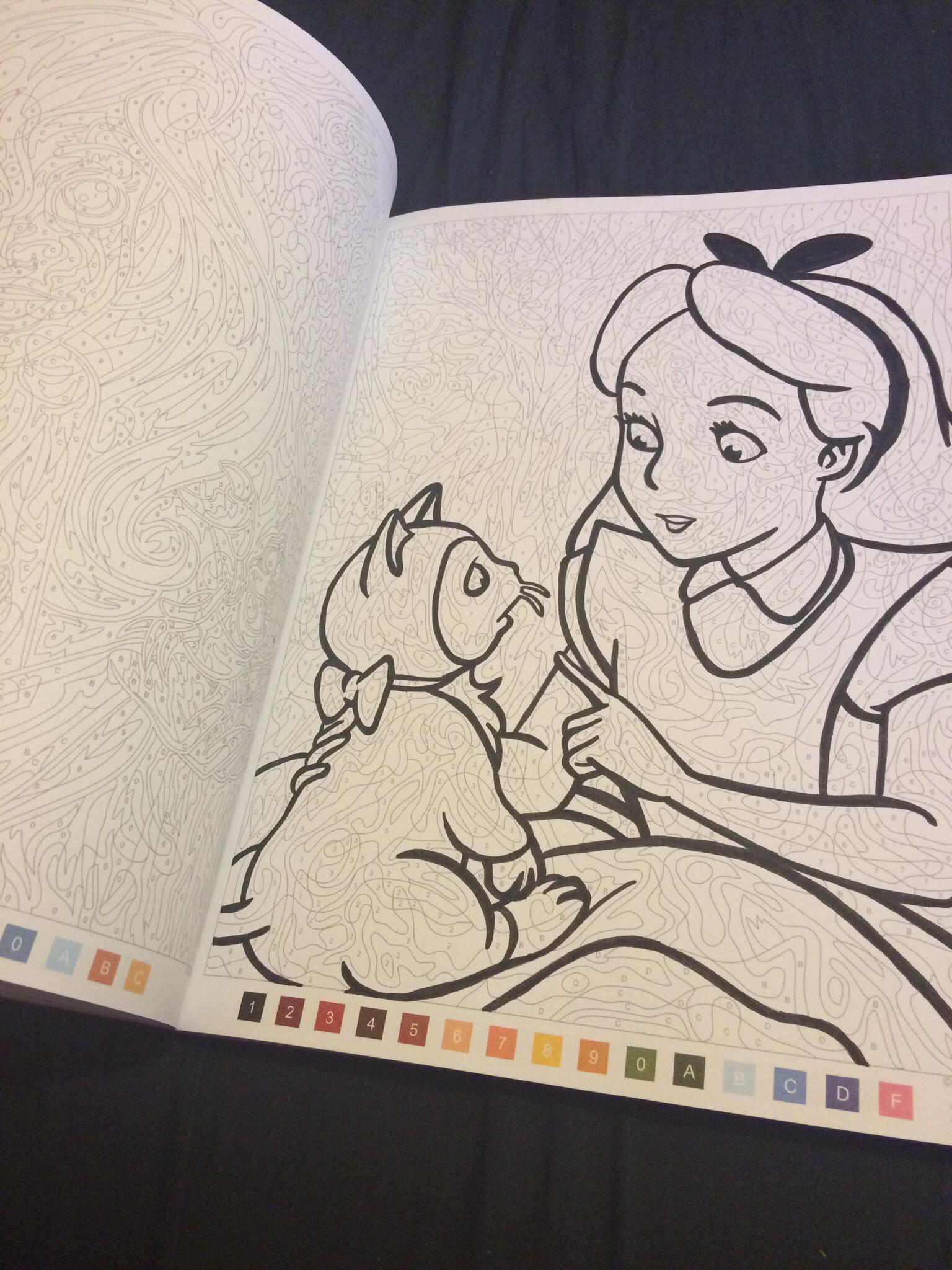 """J'Ai Testé Le Livre De Coloriages Mystères """"Les Grands encequiconcerne Coloriages Mystères Disney"""