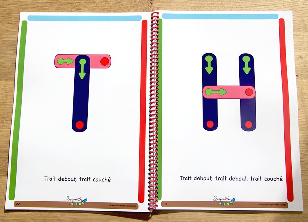 J'Apprends À Écrire En Lettres Majuscules Bâtons | Lettres à Lettre Majuscule Tag
