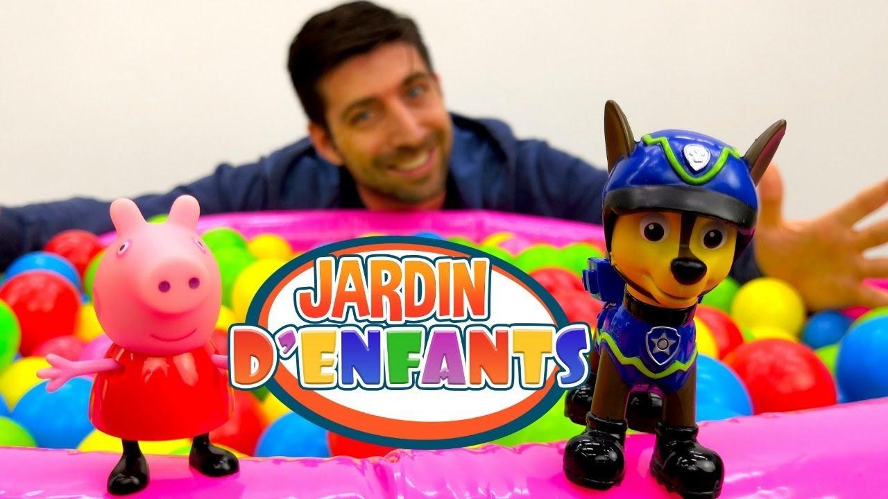 Jardin D'Enfants № 63 En Français. Peppa Pig Et Les Amis destiné Peppa Pig A La Piscine