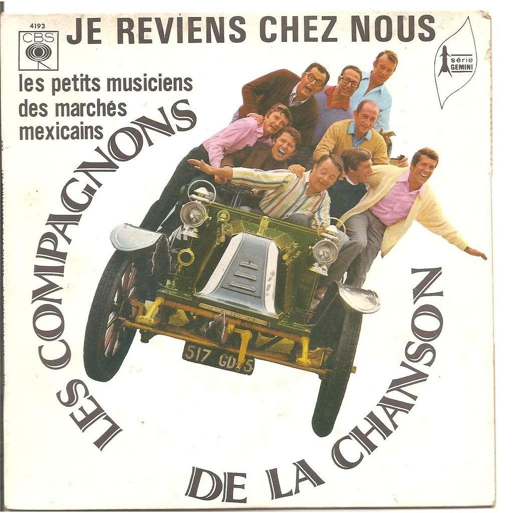Je Reviens Chez Nous / Les Petits Musiciens Des Marchés tout Musiciens Mexicains