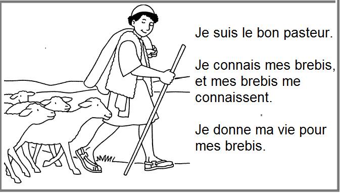 « Je Suis La Porte Des Brebis » (Jn 10, 1-10) - Secteur à Dessin De Brebis