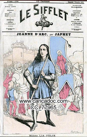 Jeanne D'Arc - Joan Of Arc - C A R I C A D O C dedans Dessin Magique Ste Jeanne D'Arc