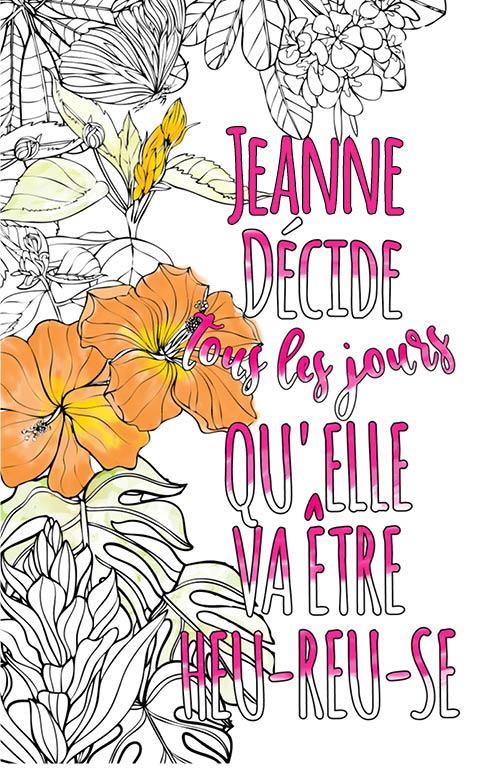 Jeanne Est Formidable. Le Livre Personnalisé De Coloriage encequiconcerne Livre Coloriage Personnalisé