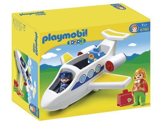 Jeu De Construction Playmobil (2013) 6780 - Avion De Ligne pour Lego Avion De Ligne