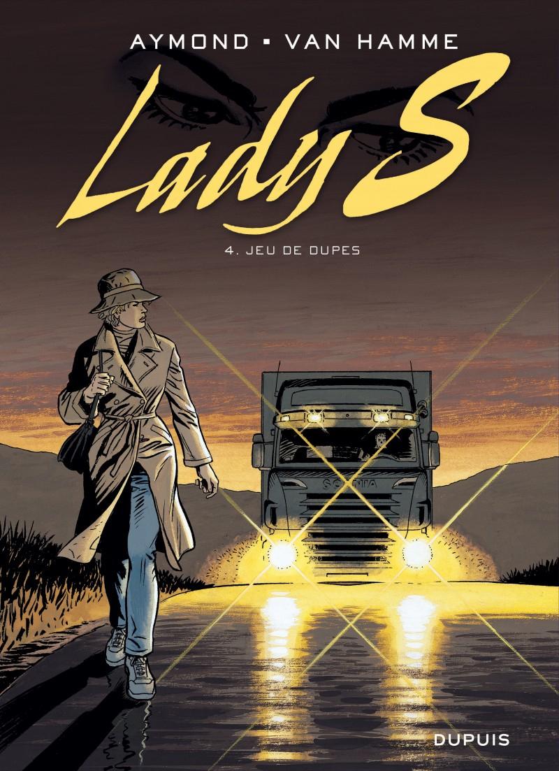 Jeu De Dupes, Tome 4 From The Comic Book Serie Lady S., De intérieur Jeu De Dedans