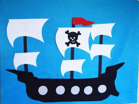 Jeu De Pirate Party, Pin Le Drapeau Sur Le Bateau Pirate intérieur Fabriquer Un Drapeau De Pirate